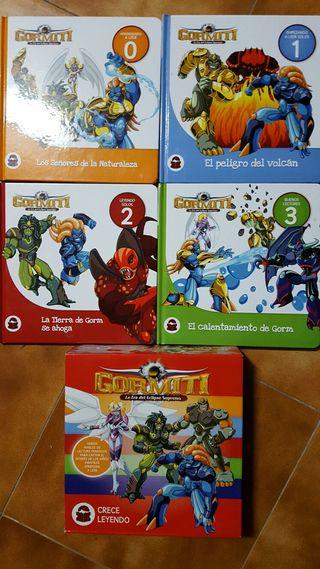 Colección libros Gormiti