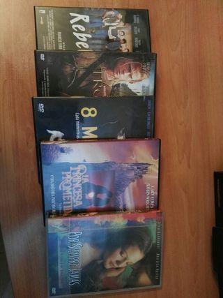 Lote 5 películas originales