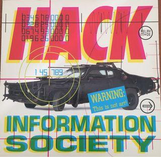 Disco Vinilo Information Society