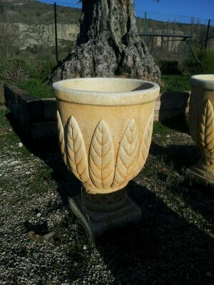 Copa de piedra artificial