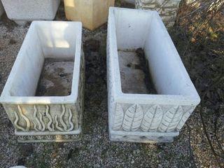 Jardineras piedra artificial
