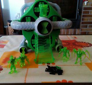 Laboratorio de creación de alienígenas de Ben 10