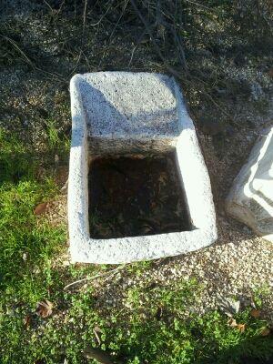Lavadero piedra artificial