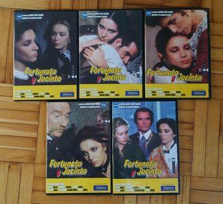 Serie completa DVD de Fortunata y Jacinta