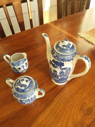 Juego Cafe porcelana japonesa