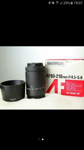 Objetivo Tamron para Canon 80-210