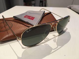 Gafas ray-ban Aviator oro