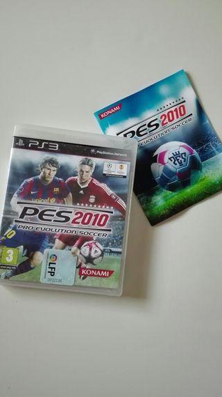 Juego play 3 PES 2010