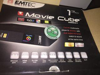 Media center Emtec 1 Tb usb y red