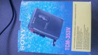 Cassette recorder sony tcm-353v