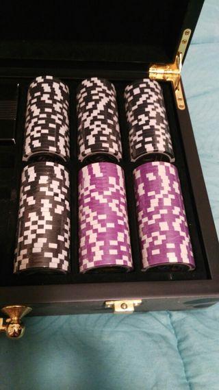 Maletin póker. Nuevo a estrenar