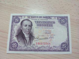 25 pesetas 1946