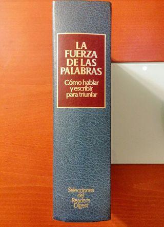 """Oferta libro años 70 """"La fuerza de las palabras"""""""