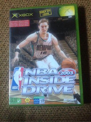 NBA 2003 Inside Drive XBOX