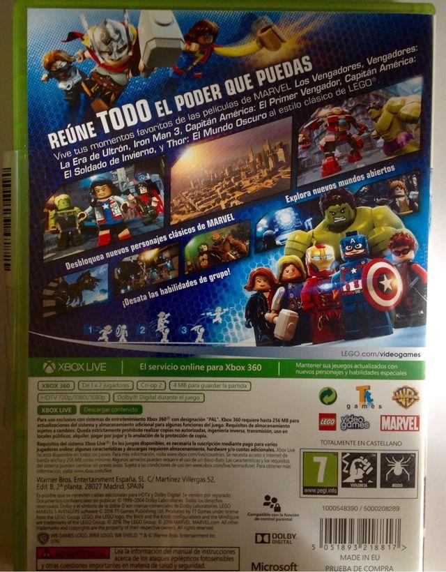 Juego Lego Marvel Los Vengadores Xbox 360