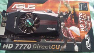 Tarjeta gráfica Asus HD 7770 DirectCu