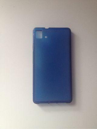 FUNDA BQ E5 azul