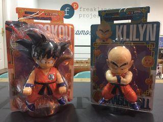 Goku y Krilin Figuras 20 Cm