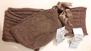 conjunto capota y bufanda niña 18 meses FOQUE