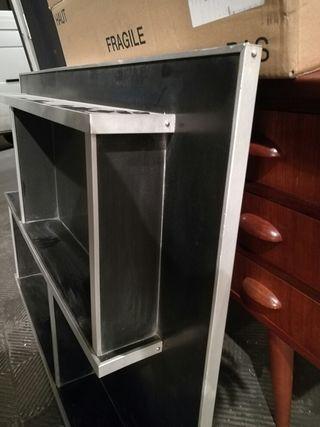 Mueble trasera estanteria a os 70 vintage de segunda mano for Wallapop madrid muebles