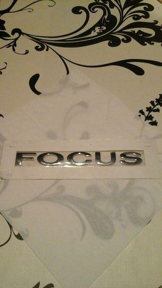 Anagrama Ford Focus
