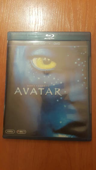 avatar bluray y dvd