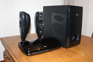 Sistema home cinema reproductor 2.1 tactil