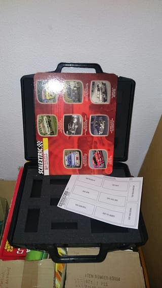 Maletín Scalextric 16 coches