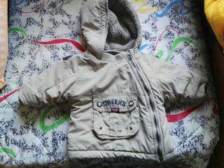 Chaqueta abrigo bebe polar borrego