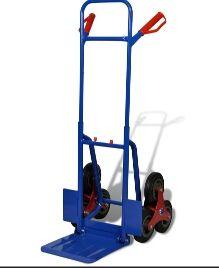 Carretilla de carga para 200 kg con 6 ruedas