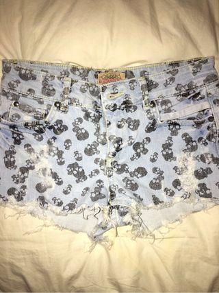 Pantalón corto de Bershka