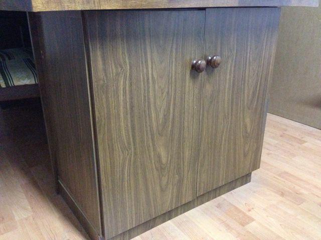 Muebles de melamina oficina color nogal de segunda mano en - Muebles figueres ...