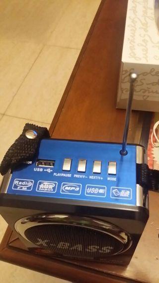 Radio con usb