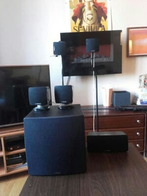 Home cinema Yamaha seminuevo