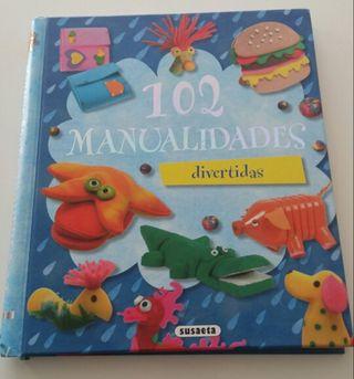 Libro niños 102 manualidades divertidas