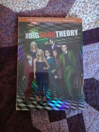 "Sexta temporada de ""Big Bang Theory"" precintada."