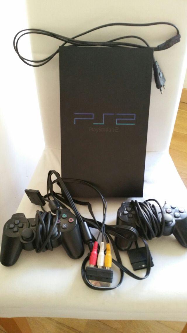 consola ps2 con juegos