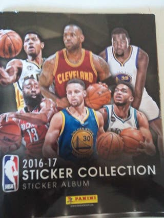 NBA STICKER COLLECTION 2017/2018 y 2016/2017