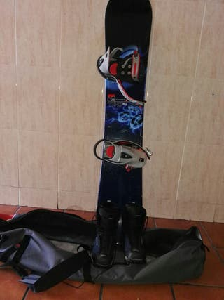 Tabla snow nidecker 1.6 + funda