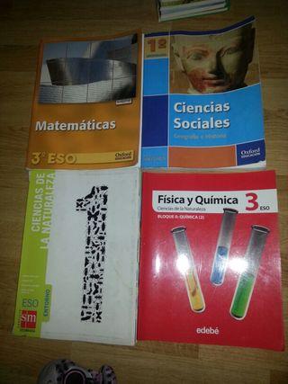 Libros de texto secundaria