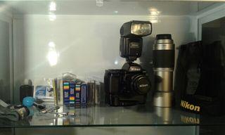 Lote Fotografía Nikon F90X