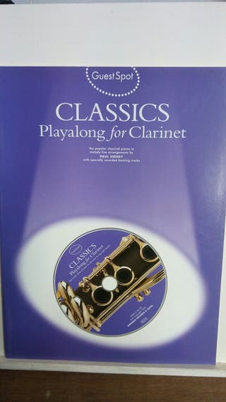 CLARINET ( CLASSICS ) CON CD.