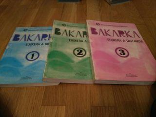 Libros para aprender Euskera 6€
