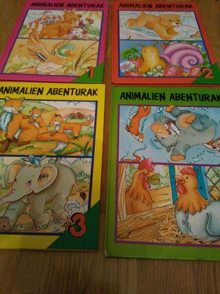 libros infantiles en euskera 3€