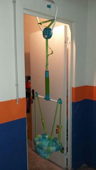 Columpio saltador para puertas