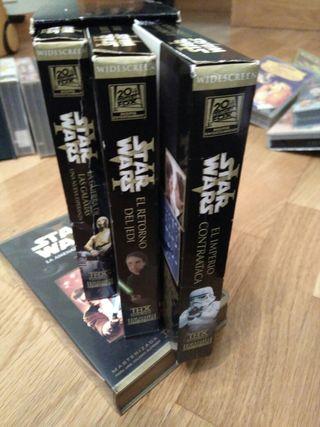 4 videos VHS Star Wars 6€