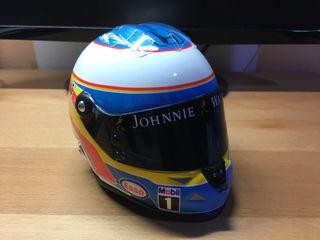 Casco Fernando Alonso McLaren Honda 1/2