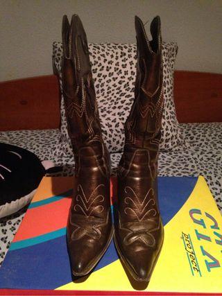 Botas cawboy