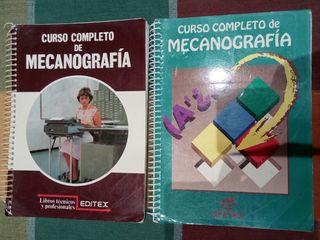 libros curso mecanografia.
