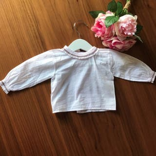 Camisa Pili Carrera niña rosa bebé 1 mes